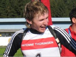 Тимофей Лапшин третий в спринте Хохфильцена