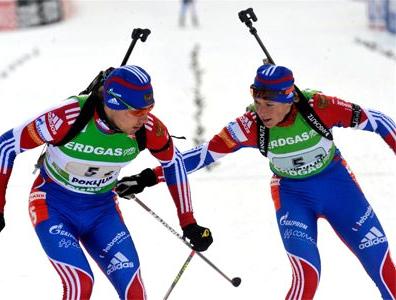 Сборная России выигрывает первый микст сезона!