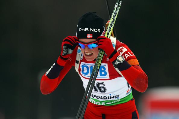 Тура Бергер - победительница женского пасьюта 15.01.2012