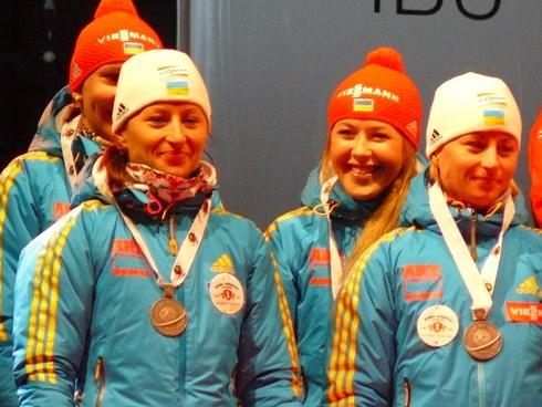 Эстафетная сборная Украины