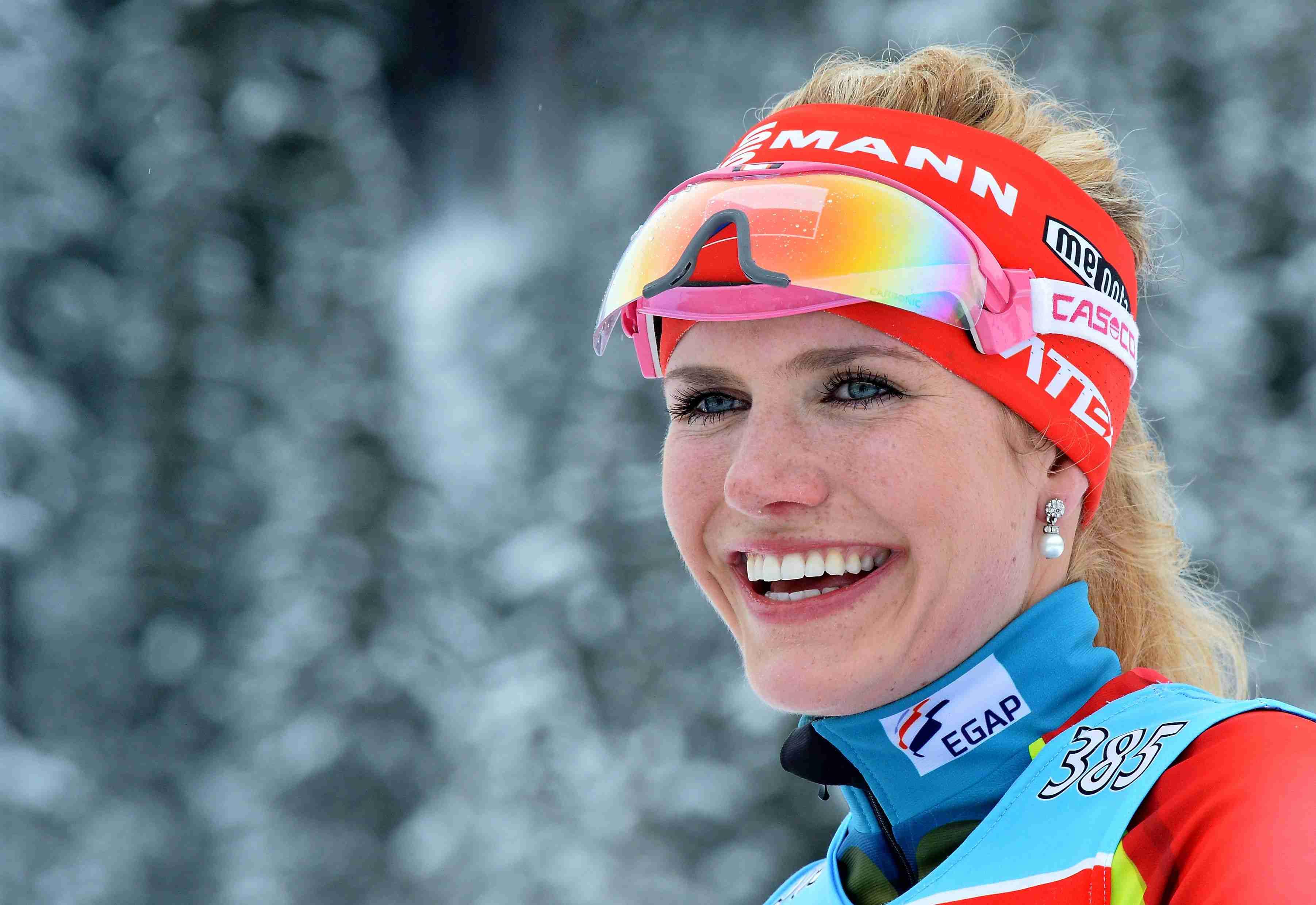 Чешка Коукалова выиграла золото вспринте наЧМ побиатлону