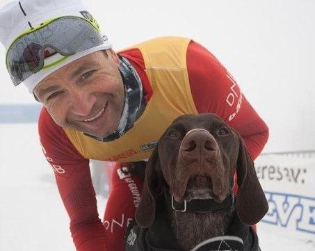 Бьорндален стал вторым в гонке на собачьих упряжках. ФОТО