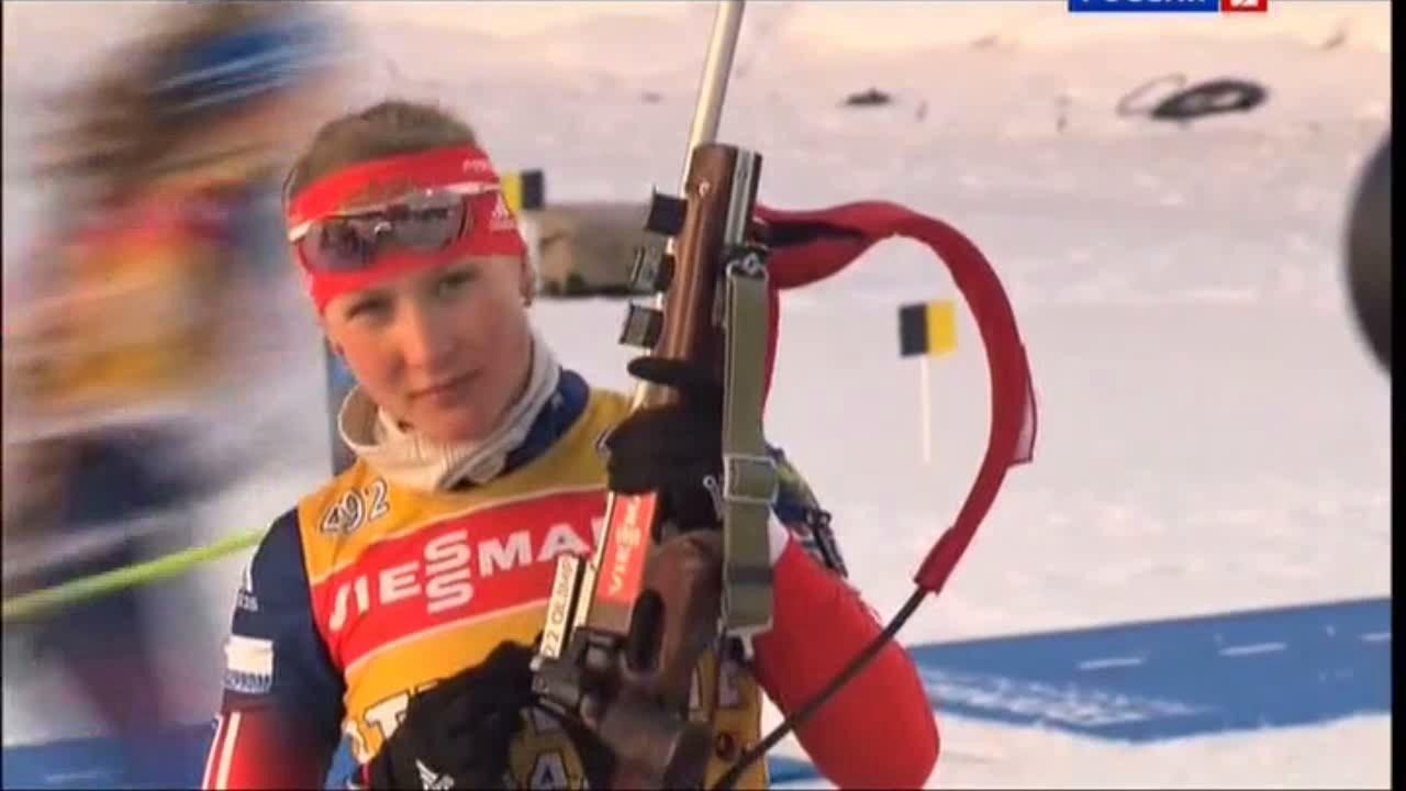 Никулина выиграла пасьют на Чемпионате России по биатлону, Шумилова – седьмая