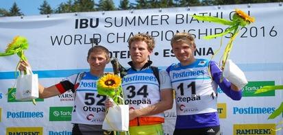 Сергей Клячин принес сборной России бронзу на летнем ЧМ по биатлону