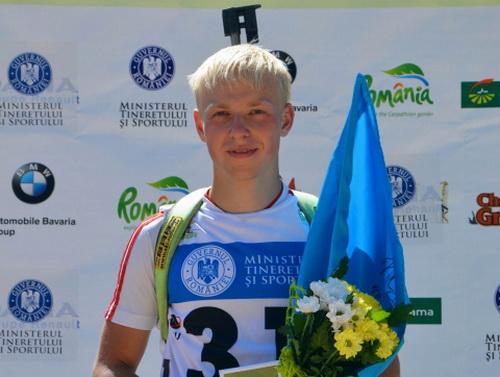 Россиянка Гербулова выиграла гонку преследования среди юниорок наЧМ полетнему биатлону