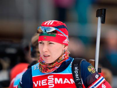 Украинская биатлонистка финишировала 5-той вспринте первого этапа кубка IBU