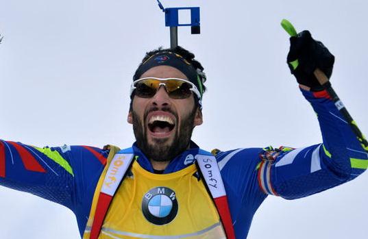 Антон Шипулин занял 3-е место вбиатлонном спринте