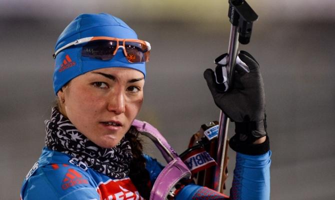 Биатлонистка Акимова завоевала «золото» вспринте наэтапе Куба мира