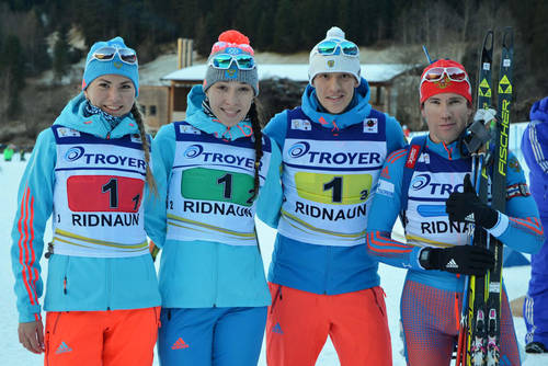 Украинка Меркушина блестяще выиграла спринт навтором этапе Кубка IBU