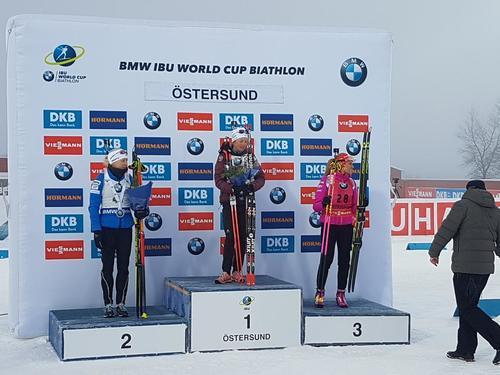 Кубок мира побиатлону: Юлия Джима была 21-й вспринте