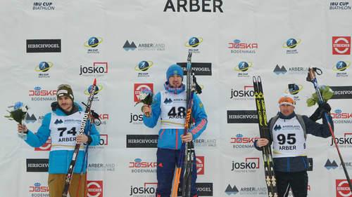 Логинов победил в особой гонке наэтапе Кубка IBU вАрбере