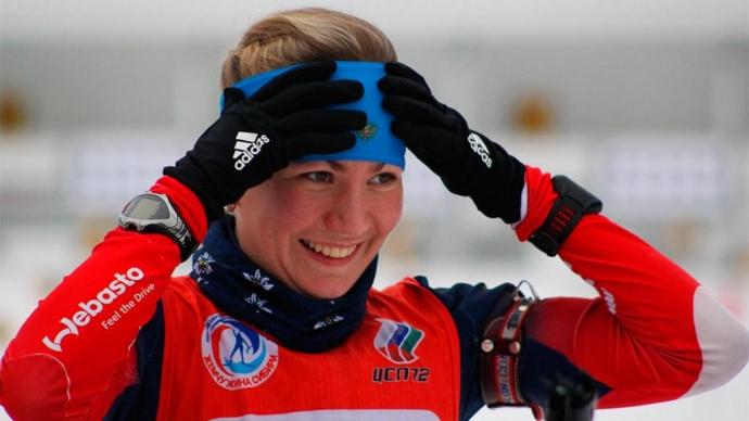 Светлана Слепцова стала 2-ой наэтапе Кубка IBU