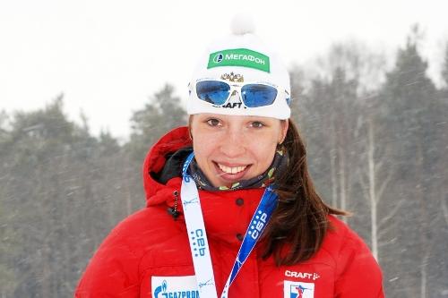 Русские  биатлонистки заняли 13-е место вэстафете наКубке мира