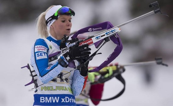 IBU world cup biathlon, relay women, Pokljuka (SLO)