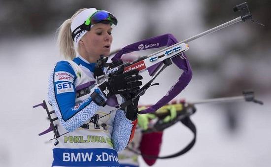 IBU world cup biathlon, relay women, Pokljuka (SLO)