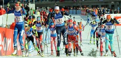 Обзор женского спринта на 2 этапе КМ 2017/18 в Хохфильцене