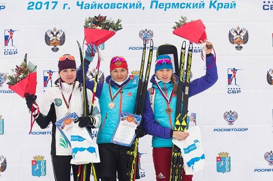 Услугина выиграла 2-ой спринт Кубка Российской Федерации