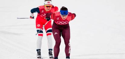Обзор женского масс-старта на Олимпиаде-2018 в Пхенчхане
