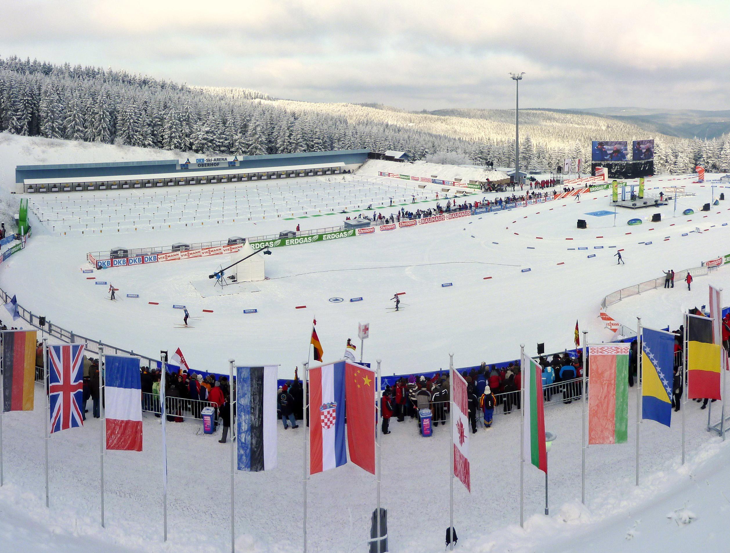 4 этап Кубка Мира по биатлону 2011-2012 в Обергофе
