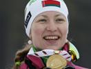 Дарья Домрачева - чемпионка мира в масс-старте 2013!