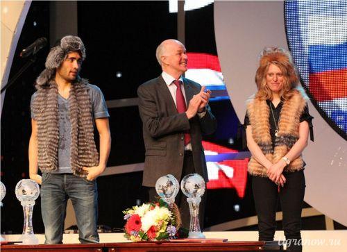 Медальный зачёт Кубка Мира по биатлону 2012-2013