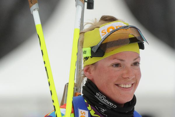 Мари Дорен-Абер выиграла спринт на 1 этапе КМ-2016/17